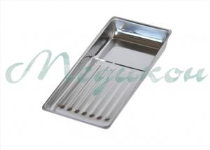 Лоток стоматологический ЛМС-Медикон 195х90х25 на 8 инструментов (ст400)