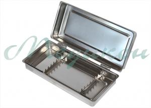 Лоток стоматологический ЛМСК-Медикон 195х90 с крышкой на 8 инструментов