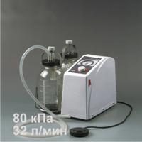 Отсасыватель медицинский В-80 с тележкой ТМО-1